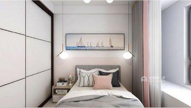 富裕型70平米北欧风格卧室装修图片大全