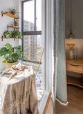 富裕型120平米三室两厅北欧风格阳台装修效果图