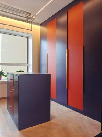 经济型100平米三室一厅工业风风格阳光房效果图
