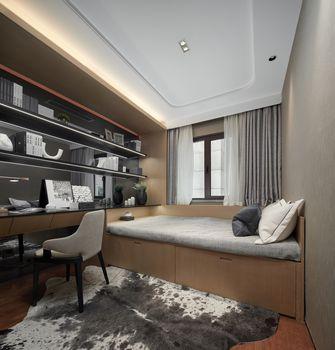 120平米三室一厅英伦风格书房图片大全
