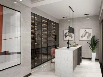 140平米三室一厅现代简约风格衣帽间装修案例