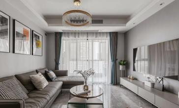 经济型100平米三室两厅欧式风格客厅装修案例