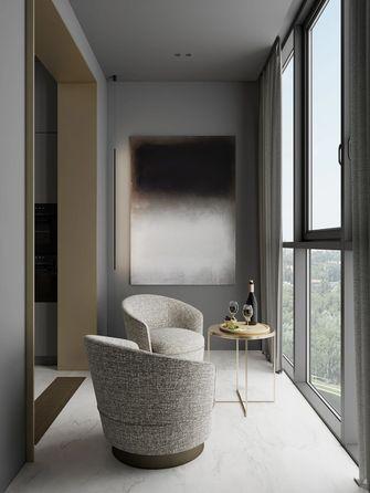 经济型70平米三室两厅轻奢风格阳台装修案例