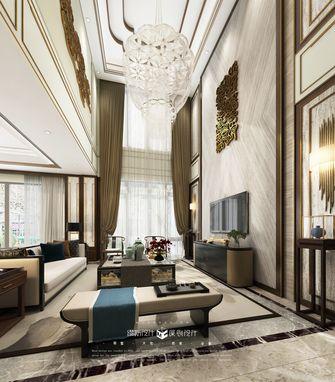 140平米别墅日式风格客厅设计图