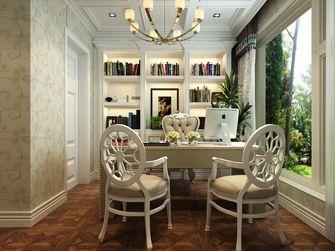 130平米三室两厅欧式风格书房装修图片大全