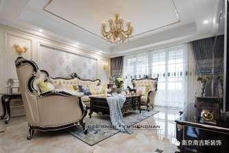 经济型四室两厅欧式风格客厅设计图