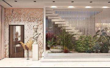 140平米别墅欧式风格楼梯间设计图