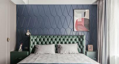 10-15万110平米三室一厅轻奢风格卧室装修图片大全
