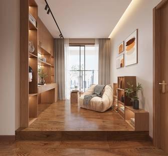 140平米四北欧风格书房设计图