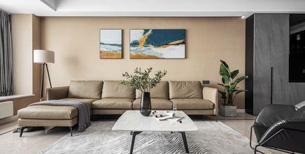豪华型120平米四室两厅工业风风格客厅装修案例
