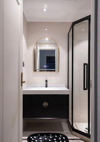 富裕型三室一厅新古典风格卫生间图