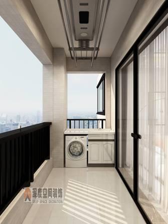 10-15万130平米轻奢风格阳台设计图