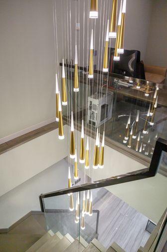 富裕型复式现代简约风格楼梯间设计图