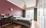 富裕型120平米三室两厅欧式风格卧室图片