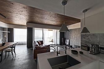 100平米三现代简约风格客厅图