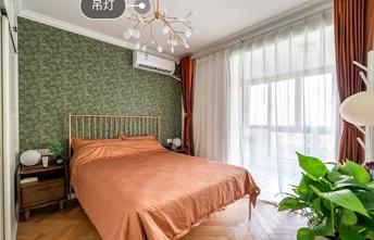 富裕型60平米田园风格卧室设计图