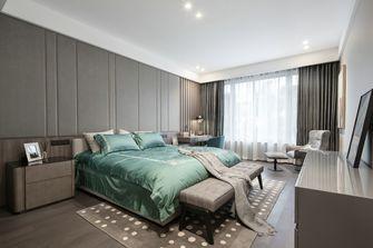 豪华型140平米四室三厅现代简约风格卧室图片大全