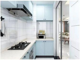 经济型60平米一室一厅现代简约风格厨房装修案例