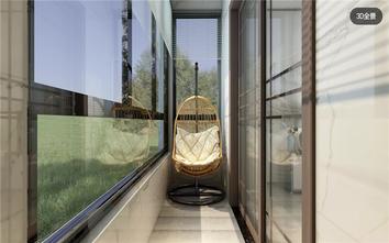 10-15万90平米中式风格阳台装修案例