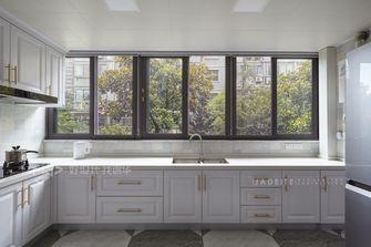 140平米三室三厅美式风格厨房装修图片大全