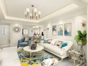 20万以上130平米三室两厅欧式风格客厅图片