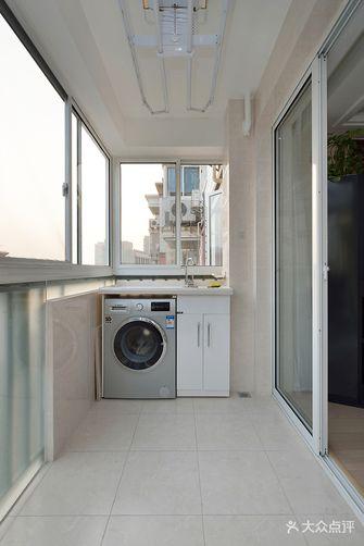 富裕型120平米三现代简约风格阳台图片大全