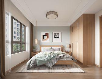 三日式风格卧室效果图