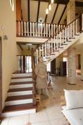 140平米四室两厅混搭风格楼梯间效果图