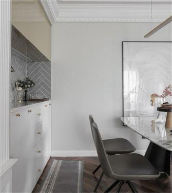 富裕型120平米三室一厅美式风格餐厅欣赏图