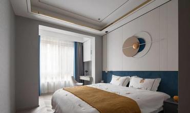 20万以上140平米复式现代简约风格卧室图片大全