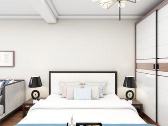5-10万40平米小户型中式风格卧室设计图