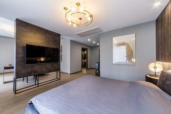 20万以上140平米别墅现代简约风格卧室图片