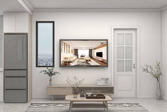 5-10万50平米小户型北欧风格客厅图