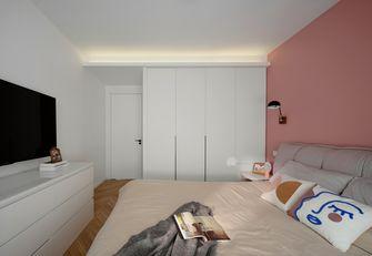 豪华型110平米三室两厅北欧风格卧室装修图片大全