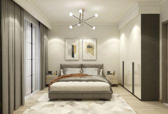 富裕型110平米三现代简约风格卧室图