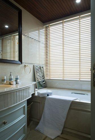 豪华型120平米三室一厅欧式风格卫生间装修案例