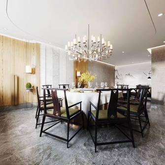 140平米公装风格餐厅图片