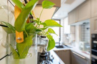 富裕型50平米公寓美式风格厨房设计图