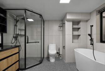 5-10万90平米复式现代简约风格卫生间设计图