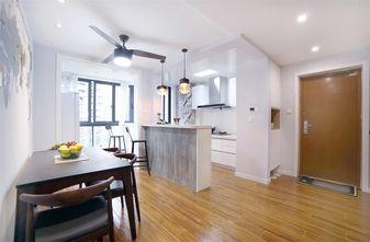 豪华型90平米三室两厅田园风格餐厅欣赏图