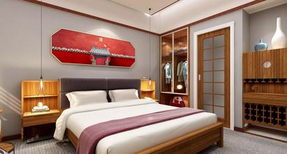 5-10万50平米一室一厅中式风格卧室装修案例