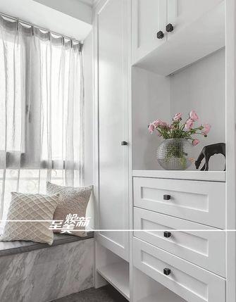 富裕型130平米三室两厅美式风格玄关图片大全
