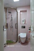 20万以上140平米复式欧式风格卫生间装修图片大全