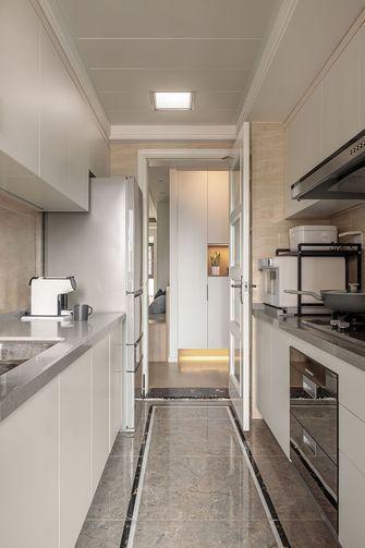 富裕型110平米三室两厅日式风格厨房设计图