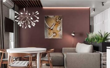 5-10万40平米小户型美式风格客厅设计图