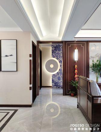 20万以上130平米三室一厅中式风格玄关图片