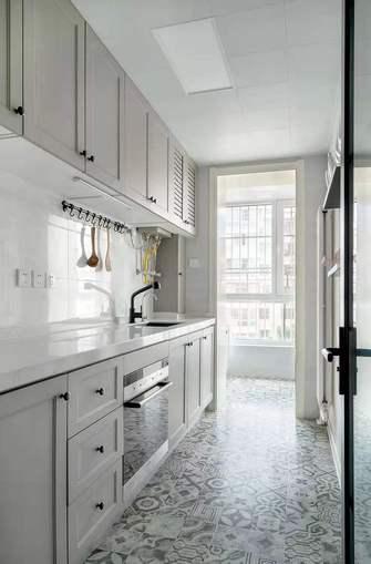 5-10万70平米北欧风格厨房装修效果图