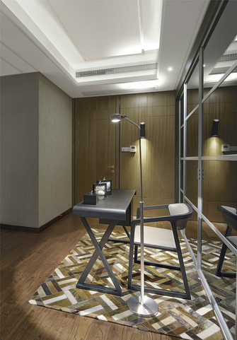 豪华型140平米中式风格书房装修效果图