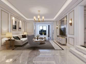 20万以上140平米三室两厅欧式风格客厅设计图
