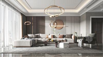 经济型70平米一室两厅轻奢风格客厅图